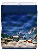 Boat Reflexion Duvet Cover