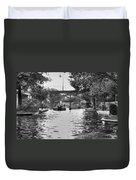 Bricktown Canal Duvet Cover