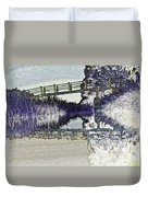 Bridge Across The River Duvet Cover