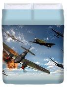 British Hawker Hurricane Aircraft Duvet Cover