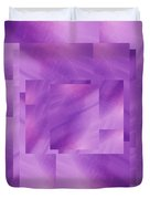 Brushed Purple Violet 3 Duvet Cover