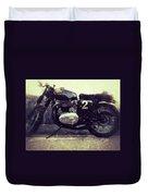 Bsa Motorbike Duvet Cover