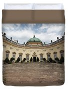 Buchlovice Castle Duvet Cover by Michal Boubin