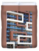 Building Facade Duvet Cover