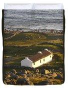 Bunbeg, County Donegal, Ireland Sunset Duvet Cover