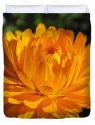 Calendula Named Bon-bon Orange Duvet Cover