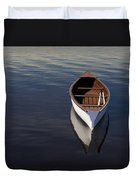 Canoe On Gander River, Gander Bay Duvet Cover