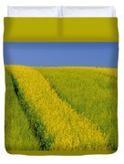 Canola Field, Darlington, Prince Edward Duvet Cover