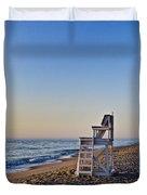 Cape Cod Lifeguard Stand Duvet Cover