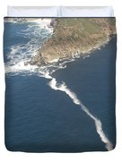 Cape Point, The Dividing Point Duvet Cover