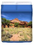 Capitol Reef Castle Duvet Cover