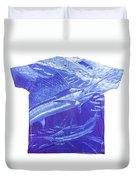 Carey Chen Mens Sailfish Shirt Duvet Cover