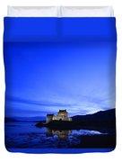 Castle In Scotland Duvet Cover