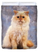 Cat Portrait Of A Cat Duvet Cover