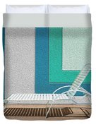 Chaising Duvet Cover by Paul Wear