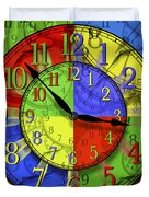 Changing Times Duvet Cover by Mike McGlothlen