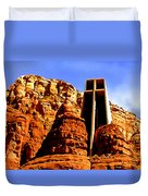 Chapel Of The Holy Cross Duvet Cover