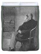 Charles Robert Darwin, English Duvet Cover