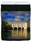 Chateau Chenonceau Duvet Cover