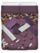 Chocolate Duvet Cover