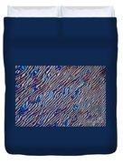 Cholesteric Liquid Crystals  Duvet Cover