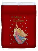 Christmas Angel Duvet Cover by Aimee L Maher Photography and Art Visit ALMGallerydotcom