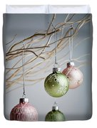 Christmas Baubles Duvet Cover