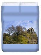 Church On A Hill Duvet Cover