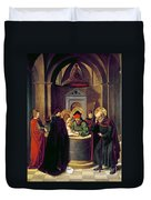 Circumcision Of Christ Duvet Cover