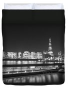 City Hall And Hms Belfast Duvet Cover