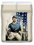 Civil War: Black Soldier Duvet Cover