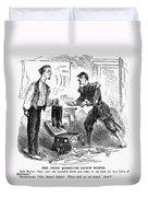 Civil War Cartoon Duvet Cover