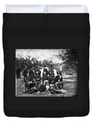 Civil War: Headquarters Duvet Cover
