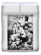 Civil War Volunteers 1861 Duvet Cover