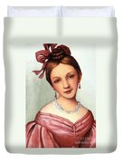 Clara Schumann (1819-1896) Duvet Cover