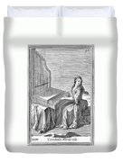 Clavicytherium, 1723 Duvet Cover