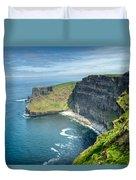Cliff Of Moher 31 Duvet Cover