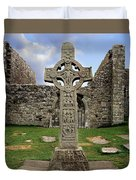 Clonmacnoise, Co. Offaly, Ireland Duvet Cover