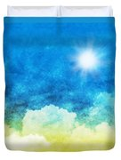 Cloud And Sky Duvet Cover