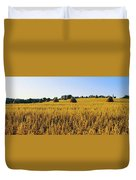 Co Down, Ireland Oats Duvet Cover