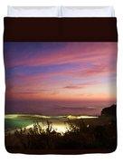 Coastal Sunset Duvet Cover