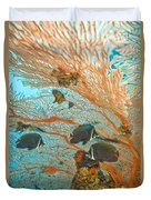Collare Butterflyfish Duvet Cover
