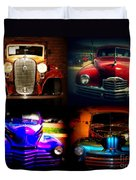 Collector Cars Duvet Cover