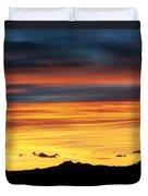 Colorado Sunrise Duvet Cover by Beth Riser