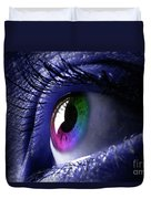 Colorful Eye Duvet Cover