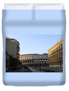 Colosseum Early Morning  Duvet Cover