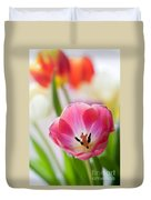 Colourful Tulips Duvet Cover