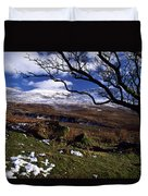 Comeragh Mountains, County Waterford Duvet Cover by Richard Cummins