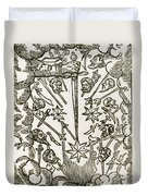 Comet, 1665 Duvet Cover