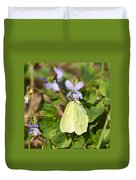 Common Brimstone  Duvet Cover